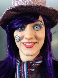 Mad Hatter Makeup III