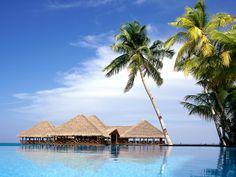 Maldives - on my bucket list. #beach #vacation #heaven Especially with my future husband