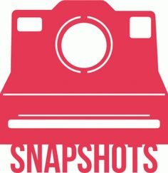 Silhouette Online Store - View Design #55465: snapshots polaroid camera