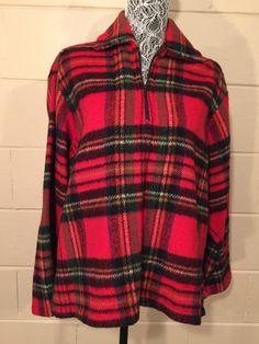 Vintage Plaid Shirt Jacket Hunters Tartan Plaid Wool Pullover Zipper  https://www.etsy.com/listing/263430166/vintage-plaid-shirt-jacket-hunters?utm_source=socialpilotco&utm_medium=api&utm_campaign=api  #clothing #jacket