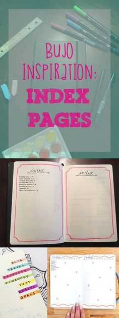 Bujo Insp_Index Pages