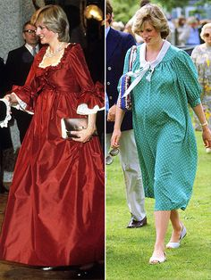 HRH Diana, Princess of Wales pregnant with Prince William in Princess Diana Biography, Princess Diana Family, Princess Charlotte, Princess Of Wales, Real Princess, Princess Beatrice, Duchess Of York, Duchess Kate, Maternity Wear