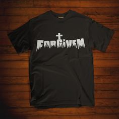 Christian t shirt. forgiven cross t shirt. This faith shirts is perfect christian gifts for you, friend and family. Womens christian t shirts, christian t shirts for men, christian shirts for women, tank top and christian hoodies now available in multiple colors!  Prayers and how to pray Christian Hoodies, Christian Clothing, Christian Apparel, Christian Women, Christian Faith, Forgiveness Quotes Christian, Christian Quotes, God Quotes About Life, Jesus Christ Quotes