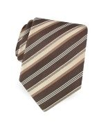 Forzieri Gold Line Ribbon Bands Woven Silk Tie The retro cool pattern on Forzieris woven silk tie is modernized by its slim width and slightly longer length for a superb combination of restrained elegance. Gift box included, Made in Italy. http://www.comparestoreprices.co.uk/mens-clothing-accessories/forzieri-gold-line-ribbon-bands-woven-silk-tie.asp