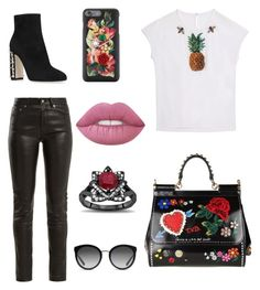 """""""D&G"""" by antobiscuit on Polyvore featuring Dolce&Gabbana and Yves Saint Laurent"""