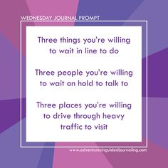 Daily Journal Prompts from Adventures in Guided Journaling by Christie Zimmer