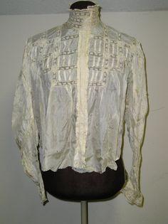 Silk Edwardian blouse