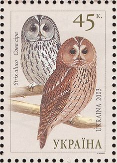 Tawny Owl stamps - mainly images - gallery format