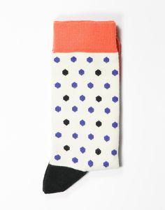 Koop Sokken - Multicolour Hexagon White/Black/Salmon/Blue Online op shop.brothersjeans.nl voor slechts € 8,95. Vind 36 andere Heroes on SOCKS producten op shop.brothersjeans.nl.