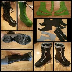 May have to do something similar for Pennsic with a pair of comfy boots. Sao Cosplay, Cosplay Boots, Cosplay Diy, Cosplay Ideas, Cool Costumes, Cosplay Costumes, Diy Clothes Patterns, Hobbit Party, Pumpkin Juice