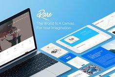 Rare - Multi-Purpose WordPress Theme by Visualmodo on @creativemarket