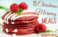 Memorable Meals for Christmas Morning. Such yummy ideas here!!| via @SparkPeople #Christmas #holiday #recipes