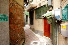 Small Street 台南市 Tainan City 場所: 臺南市, 臺南市
