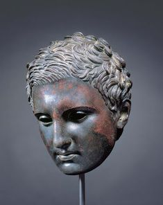 Head of an Athlete (Apoxyomenos) c. 2nd–1st century B.C.						Hellenistic or Roman, probably after Lysippos (Greek, c. 365–c. 310 B.C.)