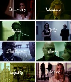 Daredevil cast & Hogwarts house traits. (found here: http://raeych.tumblr.com/post/122700013938/daredevil-week-day-7-free-day-hogwarts)