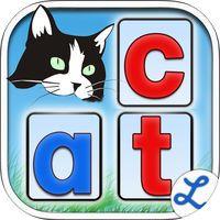 Montessori Crosswords - Fun Phonics Game for Kids by L'Escapadou