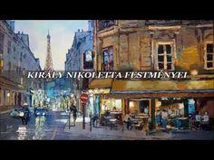 Városképek   -   Király Nikoletta festménye