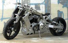 motocicletas extrañas