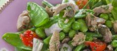 Voorjaarsgroente Salade Met Tonijn En Dressing recept   Smulweb.nl