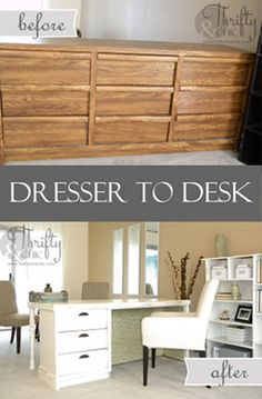 6 Practical Ideas to Repurpose Old Dressers Into New Furniture