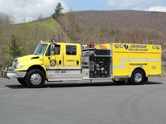 Belvedere, SC FD KME/International 4400 1500/1000 Pumper.