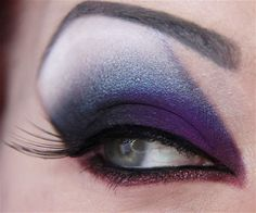 This is a look Jangsara did with Hawkeye as an inspiration. This is some seriously badass makeup. Not sure my eyeshape lends itself to it, but I'm definitely gonna try re-creating this look!
