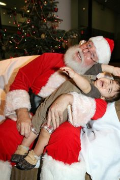 Babies And Kids On Santa's Lap [CALL FOR PHOTOS]