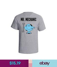 T-Shirts Mr Mechanic Mens T-Shirt Christmas Fathers Day Gift Birthday Car Vehicle #ebay #Fashion
