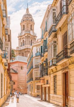 A lot of visitors to this part of Spain will fly into Malaga Airport without ever actually visiting the city (e. on their way to Granada), however, some Travel Tips For Europe, Places To Travel, Places To Go, Spain Places To Visit, Travel Diys, Malaga Spain, Seville Spain, Granada Spain, Dream Vacations