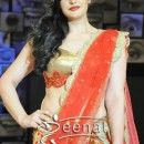 Zarine Khan Looks Stunning In Red Lehenga Choli