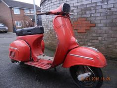 eBay: CLASSIC VESPA 150 SPRINT 1970 RESTORATION PROJECT SPARES WITH SPARE ENGINE #motorcycles #biker