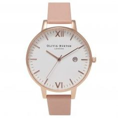 Timeless Dusty Pink and Rose Gold Olivia Burton watch