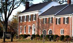 Brick Farm Tavern is an upscale farm-to-table restaurant housed in an 1800s farmhouse.