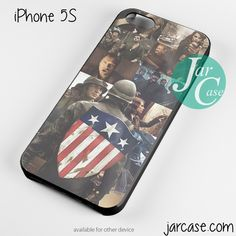 Captain America The First Avenger Poster Phone case for iPhone 4/4s/5/5c/5s/6/6 plus