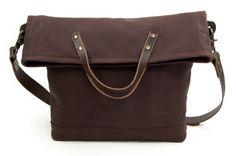 toppy - handmade leather bag - temono