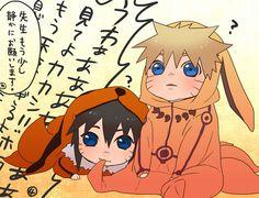 Tags: Anime, Pixiv Id 1828104, Naruto the Movie: Road to Ninja, NARUTO, Menma (Naruto The Movie: Road To Ninja), Uzumaki Naruto, Baby