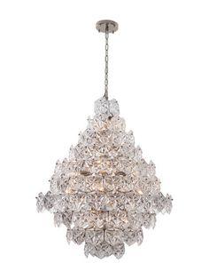 Large Overture Pendant Lamp by VIZ Glass at Gilt