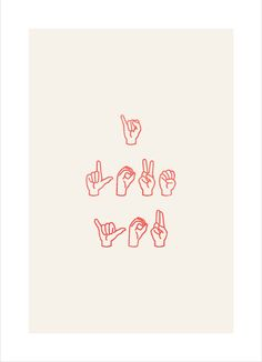 """Fingerspelling of """" I Love You."""" This means a lot to me, my son is 9 years old & he's deaf :)"""