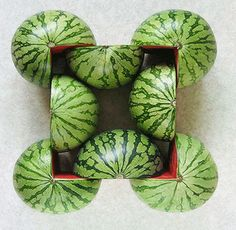 explore-blog:    Such gorgeous geometric food photos by Turkish artist Sakir Gokcebag.