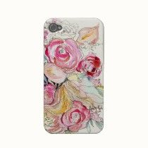 'Neon Blooms' #iPhone Case - Monumental Designs by Kristy Rice