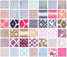 danielle oakey interiors: Affordable Block Printed Fabrics