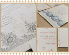 Letterpress wedding invitation sample french victorian with thistleberry press my invitations were printed on cream paper in chocolate ink it featured a beautiful floral design with a script typeface throughout stopboris Gallery