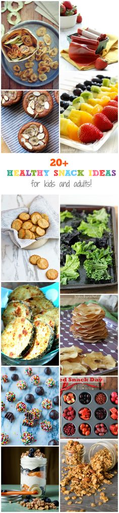 20+ Healthy Snack Ideas For Kids and Adults | Brunch Time Baker