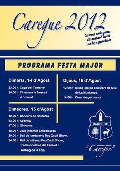 El blog de P.S.: Go!: Festa Major de Caregue 2012
