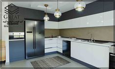 Decor, Home, Kitchen Cabinets, Cabinet, Kitchen