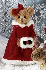 All dressed for Christmas.....
