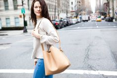 Jules Bucket Bag - Light Beige          a fresh take on the traditional bucket bag. streamlined, simple, and shapely.      donate by color.light beige raisesaware...