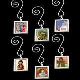 Use your own favorite photos to make 6 photo double sided dangling Christmas Ornaments with this complete kit! Includes 6 silver plated double sided square photo frames, 6 Christmas swirled ornament h Picture Christmas Ornaments, Photo Ornaments, Christmas Tag, Christmas Angels, Christmas Photos, Christmas Crafts, Christmas Decorations, Christmas Ideas, Diy Ornaments