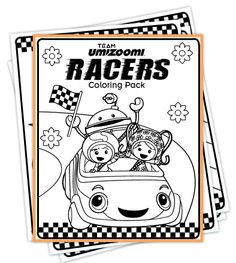 FREE Team Umizoomi Coloring Pages