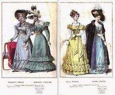 """krawcówna: """"La Belle Assemblee"""" - 1816 - 1832 digital library"""
